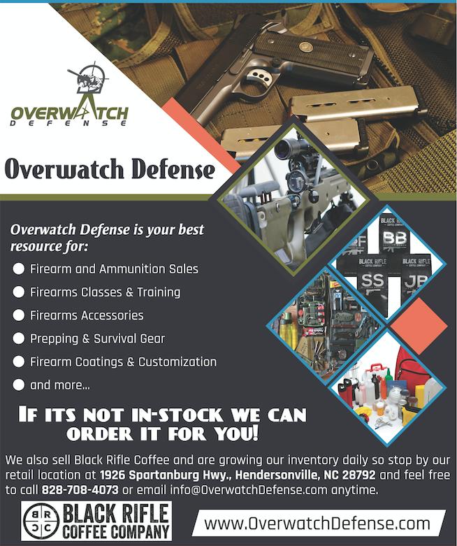 Overwatch Defense in Hendersonville NC